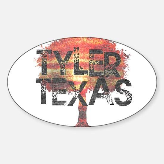 Tyler Texas Tree Decal