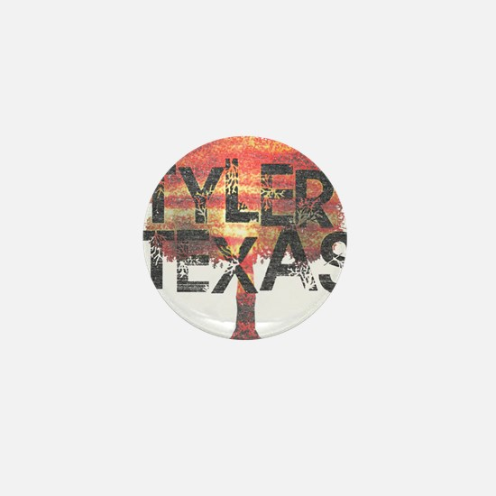 Tyler Texas Tree Mini Button