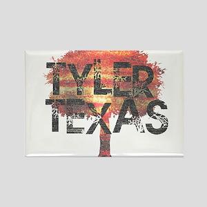 Tyler Texas Tree Rectangle Magnet