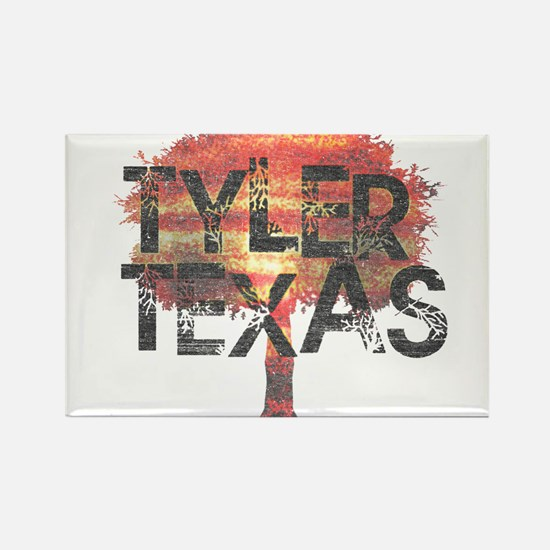 Tyler Texas Tree Rectangle Magnet