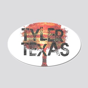 Tyler Texas Tree Wall Decal