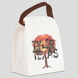 Tyler Texas Tree Canvas Lunch Bag