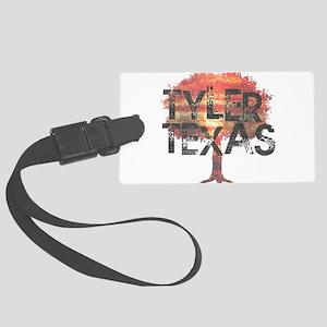 Tyler Texas Tree Luggage Tag