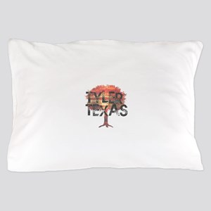 Tyler Texas Tree Pillow Case