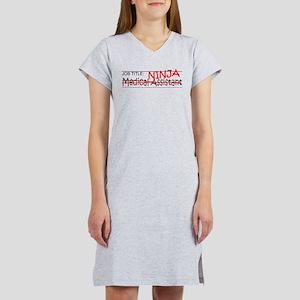 Job Ninja Med Asst Women's Nightshirt