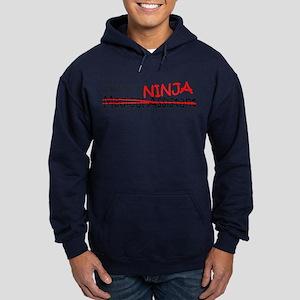 Job Ninja Med Asst Hoodie (dark)