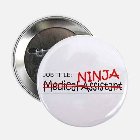 """Job Ninja Med Asst 2.25"""" Button"""