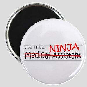 Job Ninja Med Asst Magnet