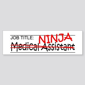 Job Ninja Med Asst Sticker (Bumper)