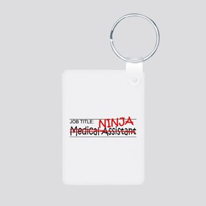 Job Ninja Med Asst Aluminum Photo Keychain