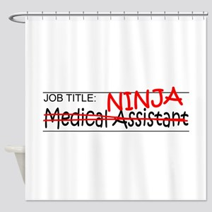 Job Ninja Med Asst Shower Curtain