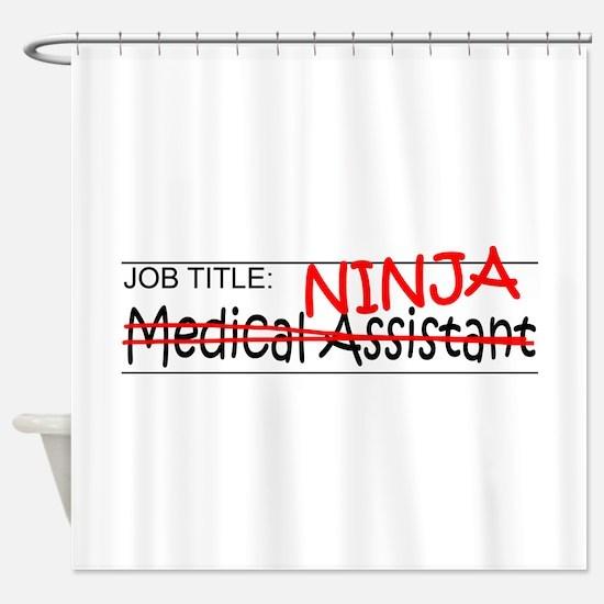 Job Ninja Med Asst Shower Curtain
