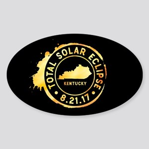 Eclipse Kentucky Sticker (Oval)