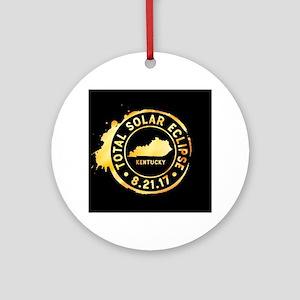 Eclipse Kentucky Round Ornament