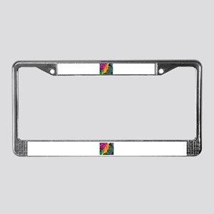 Peacemaker Butterfly License Plate Frame