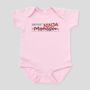 Job Ninja Manager Infant Bodysuit