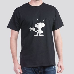 Alien With Ray Gun T-Shirt