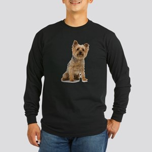Yorkshire Terrier Long Sleeve Dark T-Shirt