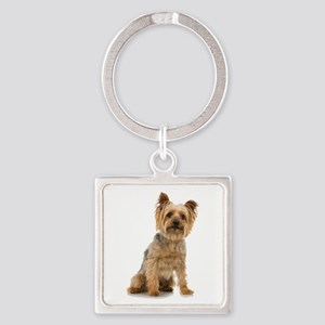 Yorkshire Terrier Square Keychain