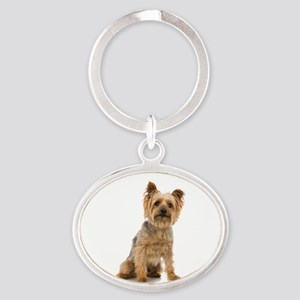 Yorkshire Terrier Oval Keychain