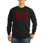 Jesus Freak Christian Long Sleeve Dark T-Shirt