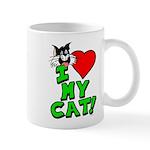 "I Love My ""Tuxedo"" Cat Mug"