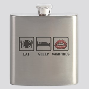 Eat Sleep Vampires Flask
