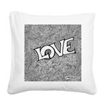 Love Square png Square Canvas Pillow