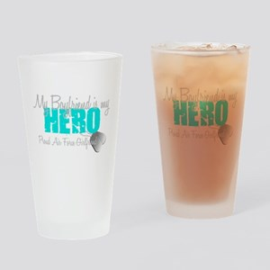 BF is my hero Drinking Glass