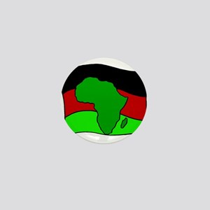 African Flag Kwanzaa Mini Button