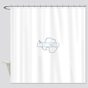 The REAL DEEP SOUTH back Shower Curtain