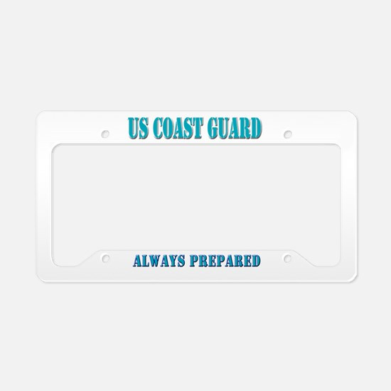 US Coast Guard License Plate Holder