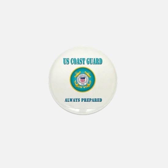 US Coast Guard Mini Button