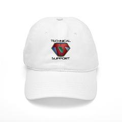 Super Tech Support - lt Baseball Baseball Cap
