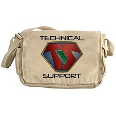Super Tech Support - lt Messenger Bag