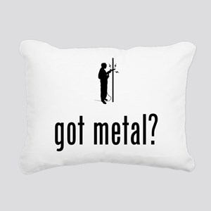 Fabricator Rectangular Canvas Pillow