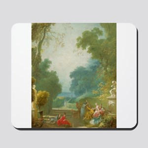 Jean-Honore Fragonard - A Game of Hot Cockles Mous
