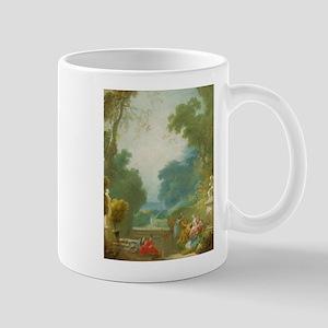 Jean-Honore Fragonard - A Game of Hot Cockles Mug