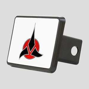 Klingon Emblem Rectangular Hitch Cover