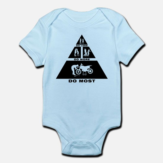 Dirt Bike Mechanic Infant Bodysuit
