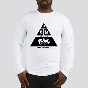 Dirt Bike Mechanic Long Sleeve T-Shirt