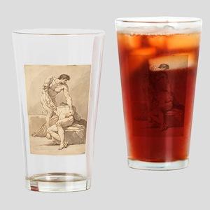 Johann Heinrich Lips - Two Naked Men Drinking Glas