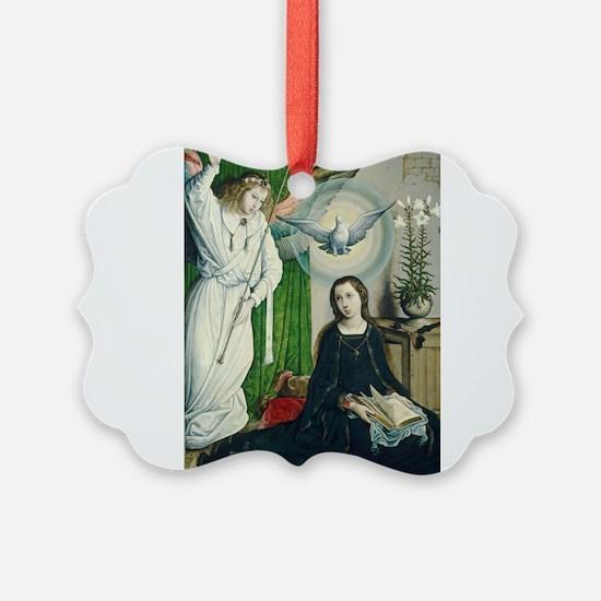 Juan de Flandes - The Annunciation Ornament