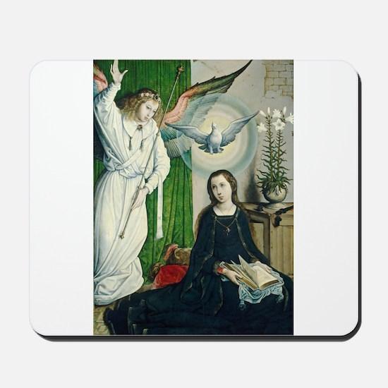 Juan de Flandes - The Annunciation Mousepad