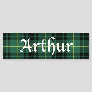 Tartan - Arthur Sticker (Bumper)