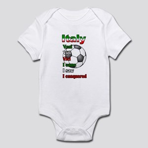 Italian Socccer Infant Bodysuit