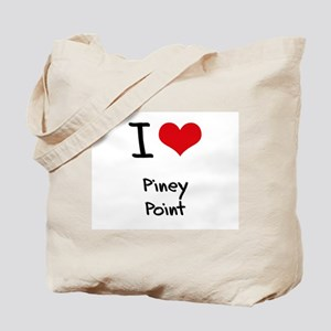I Love PINEY POINT Tote Bag