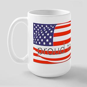 Born in the USA! Large Mug