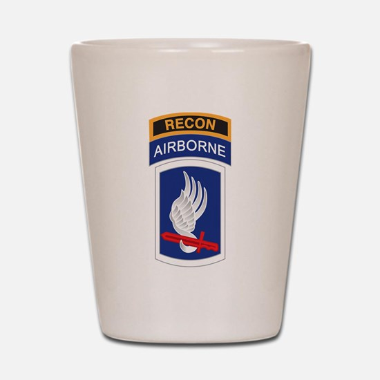 Cute Army divisions Shot Glass