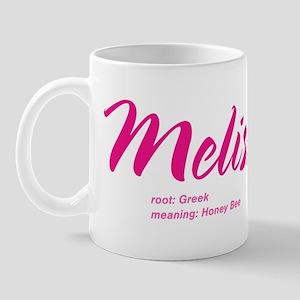 Personalized Melissa Mug